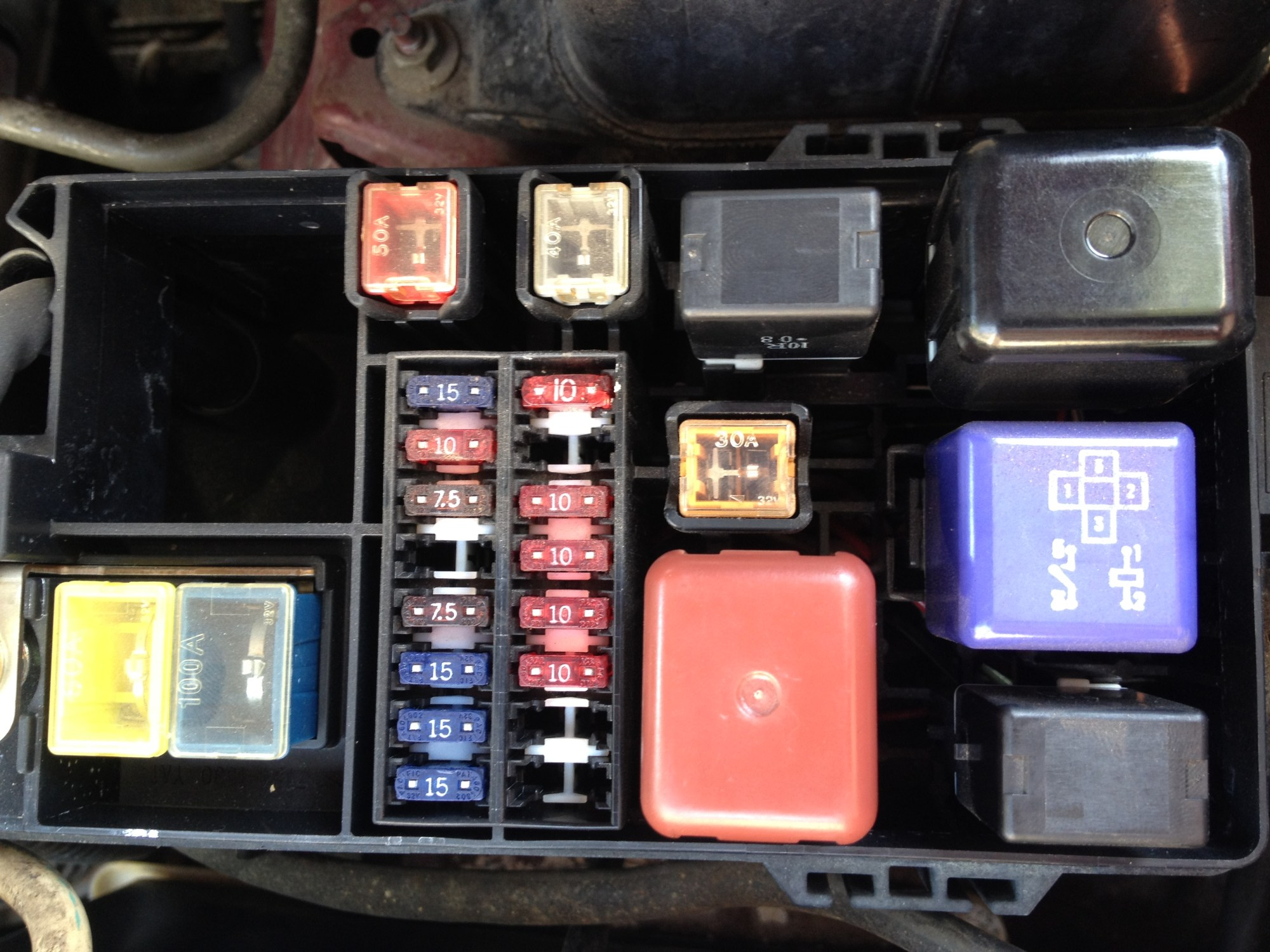 hight resolution of 1987 toyota pickup fuse diagram