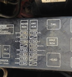 1995 toyota 4runner fuse diagram wiring diagram details95 toyota pickup fuse box diagram wiring diagram 1995 [ 3264 x 2448 Pixel ]