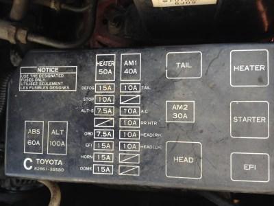 Toyota 4Runner SR5: My husband bought a 1997 Toyota 4Runner