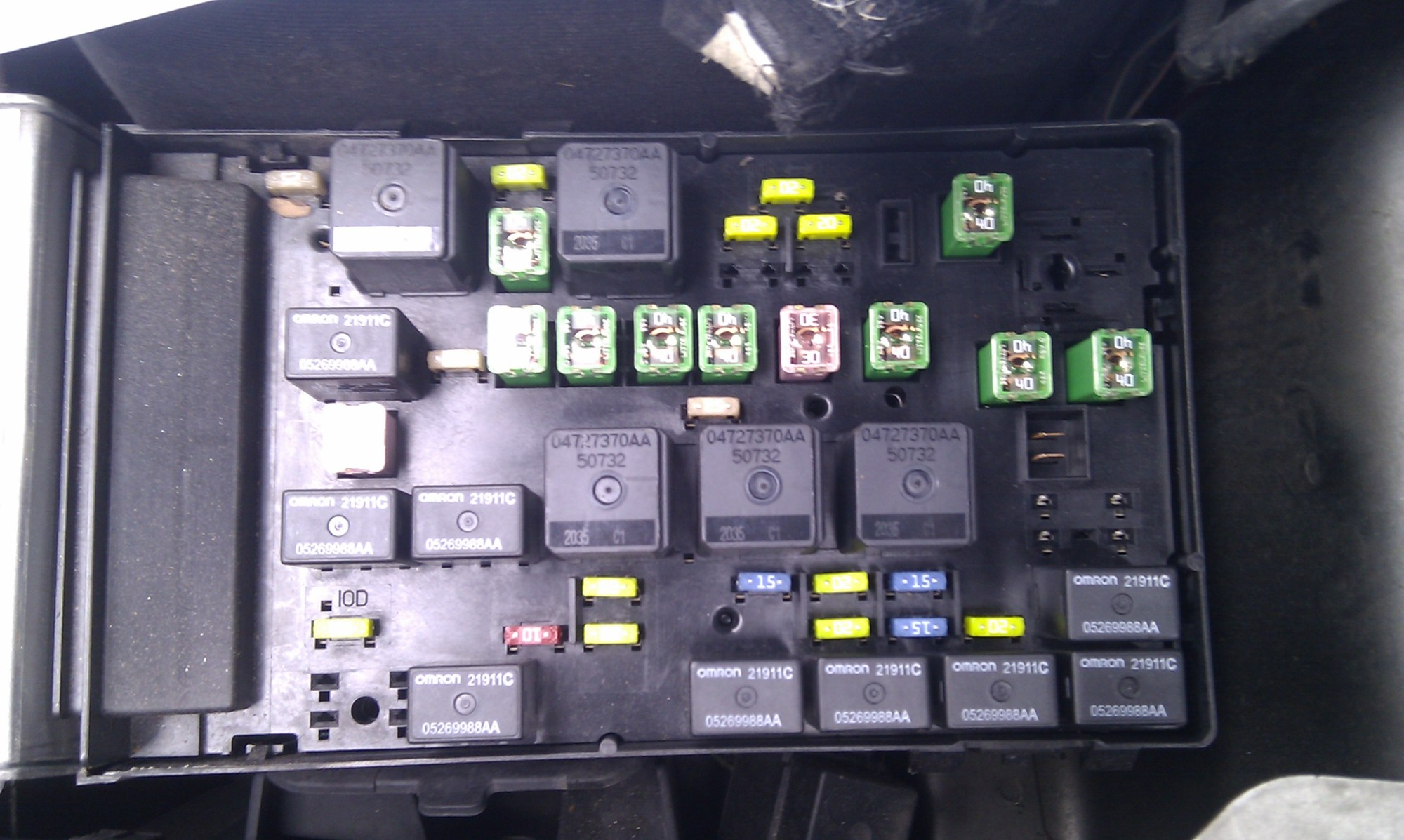 hight resolution of 2012 dodge avenger fuse box