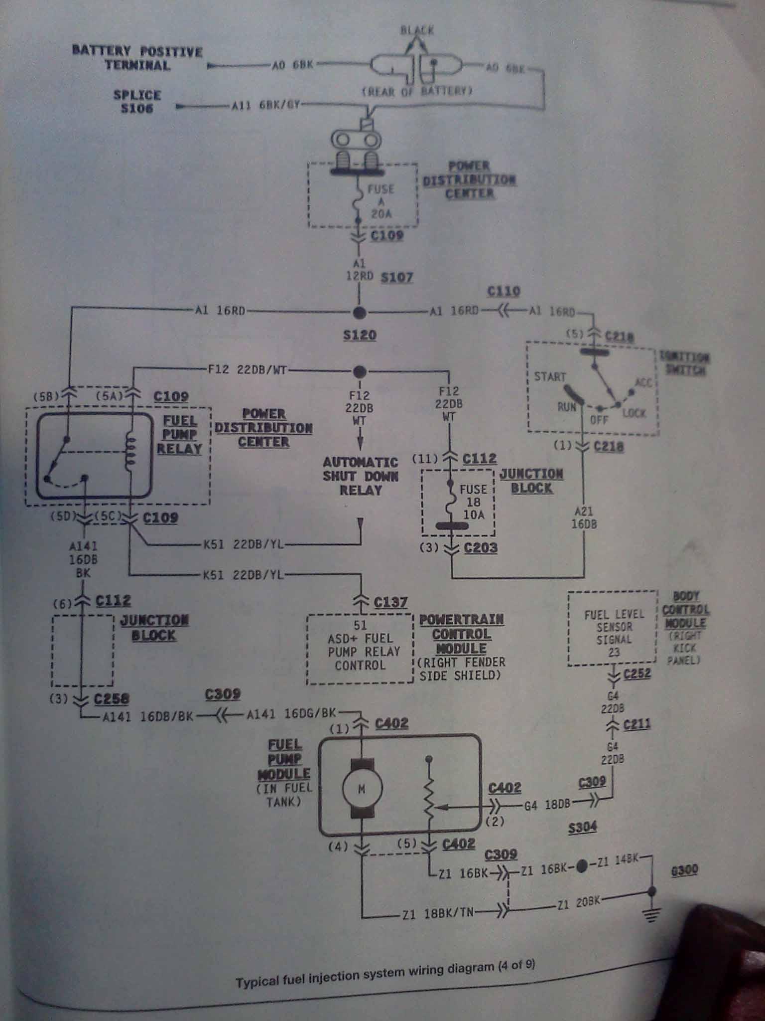 Wiring Diagram 1998 Chrysler Get Free Image About Wiring Diagram