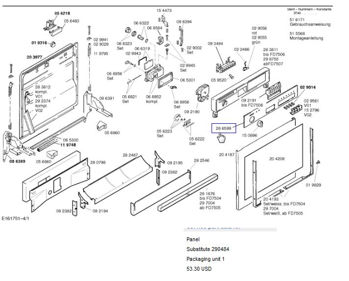 Bosch Dishwasher Parts: Bosch Dishwasher Parts Amazon