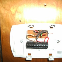 Honeywell Thermostat Wiring Diagram Rth6350 Toyota Truck Diagrams Have A Wired As Follows Wires Not Original