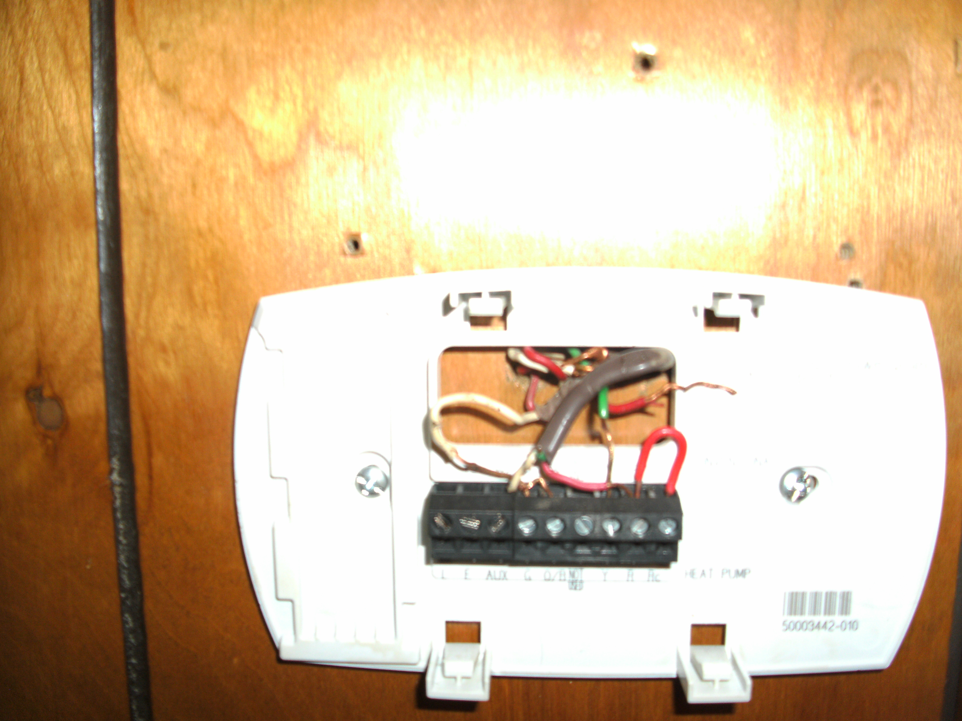 honeywell thermostat rth6350d wiring diagram green roof water runoff have a rth6350 wired as follows wires not original