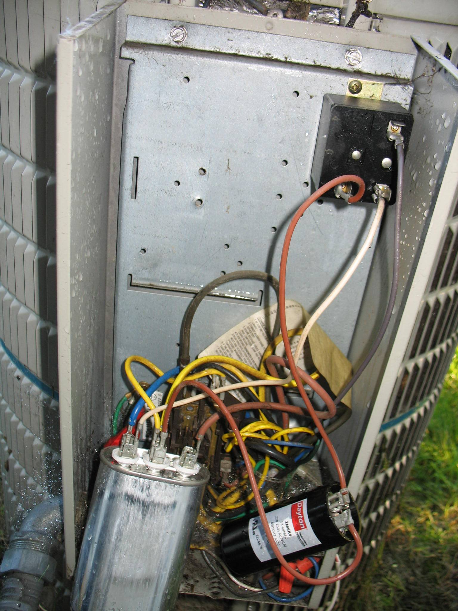 carrier air conditioner capacitor wiring diagram bowling lane printable ac dual get free image