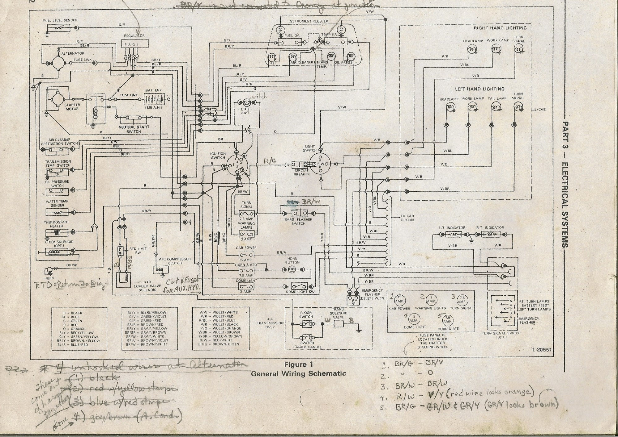 hight resolution of ford 5000 wiring diagram
