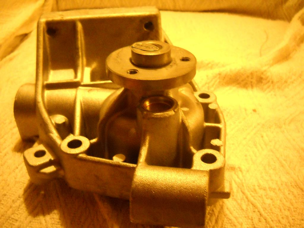 I Need To Change The Water Pump On My Fiat Ducato Motorhome