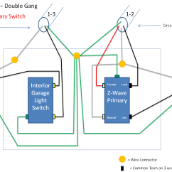 Wiring Diagram For 4 Way Switch Help With Ge Jasco Light Switches Connected Building A Koi Pond Z Wave Www Toyskids Co Trying To Wire In 45614 3 Kit 5 Methods