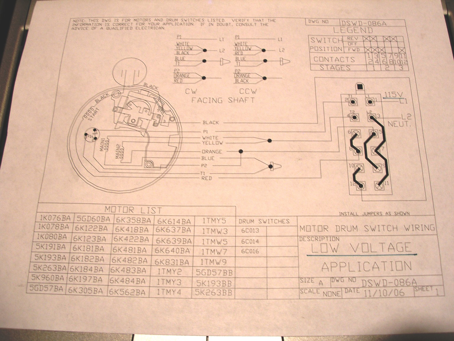 leeson 3 hp motor wiring diagram yamaha fzr 600 the on my boat lift quit. it was a ao smith motor, open