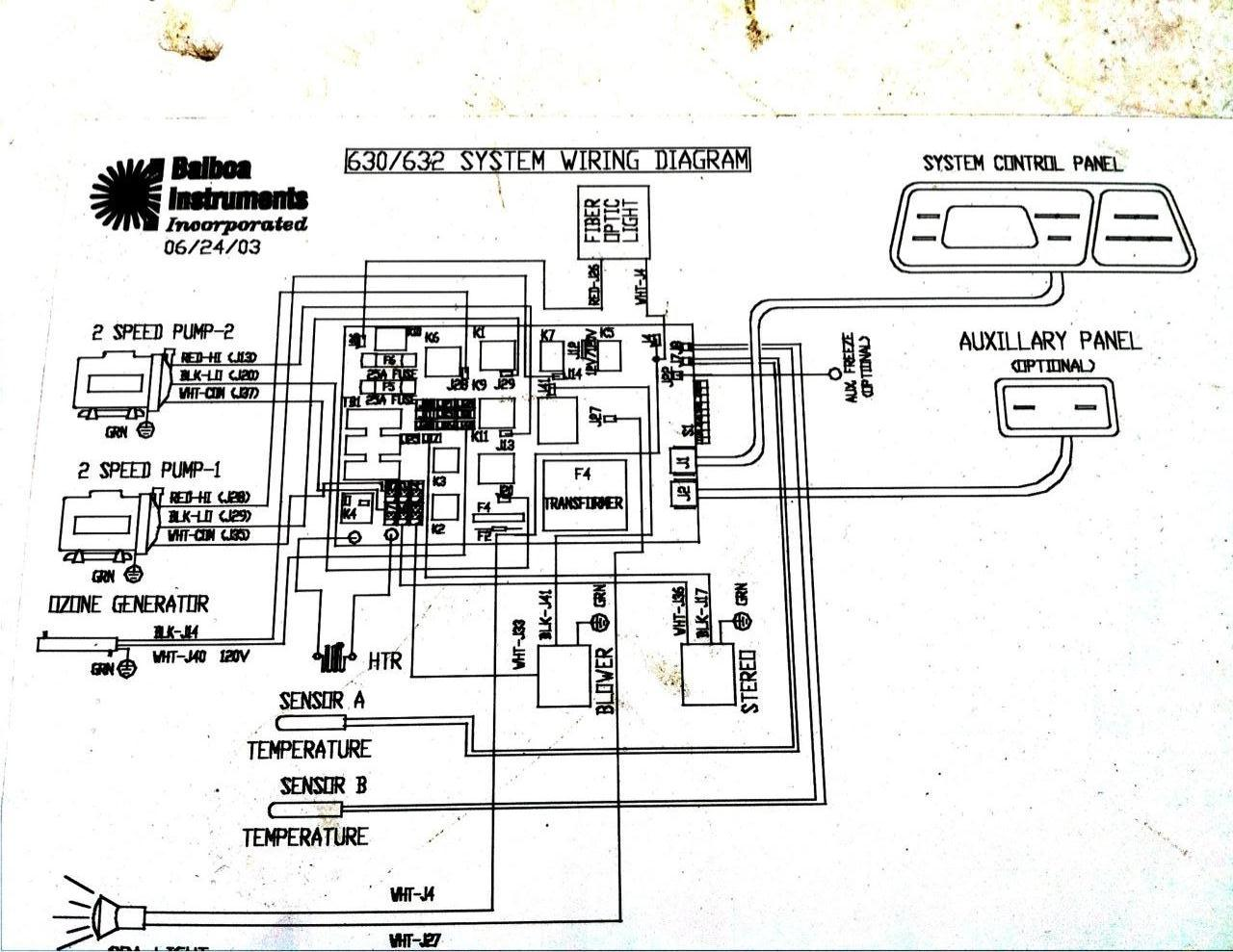 balboa wiring diagram peripheral nerves labeled i have a 2003 coleman spas model 482dlx it has two motors