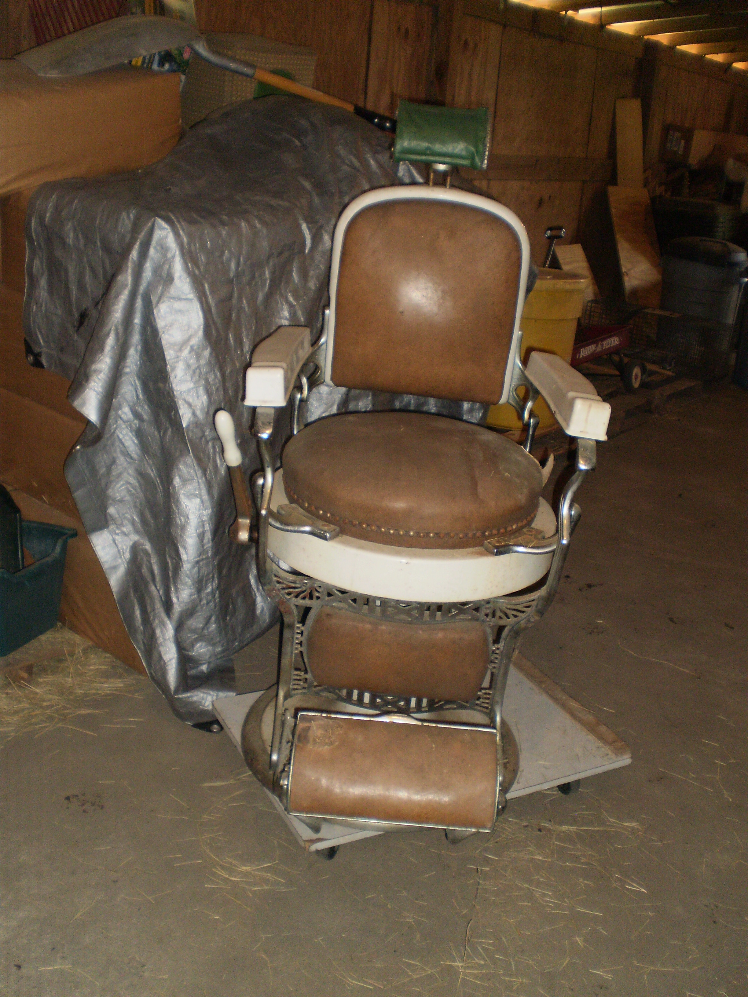 antique wood barber chair how to make sex do you find the age of an koken we