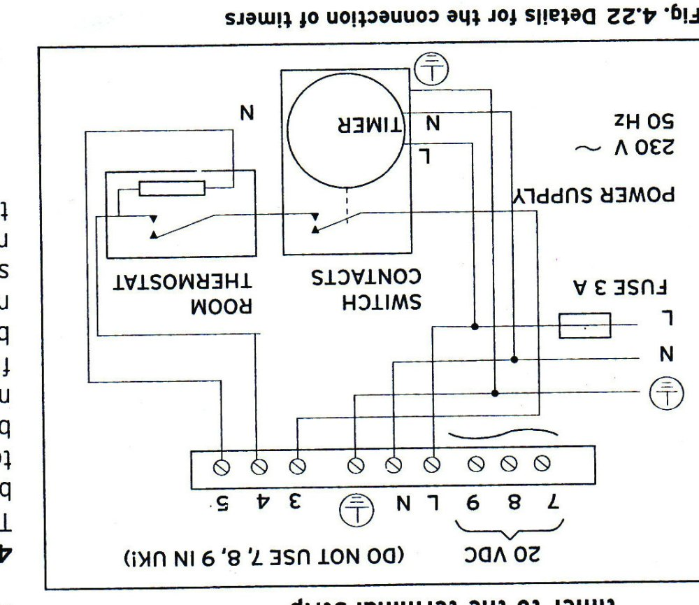 medium resolution of room stat wiring diagram