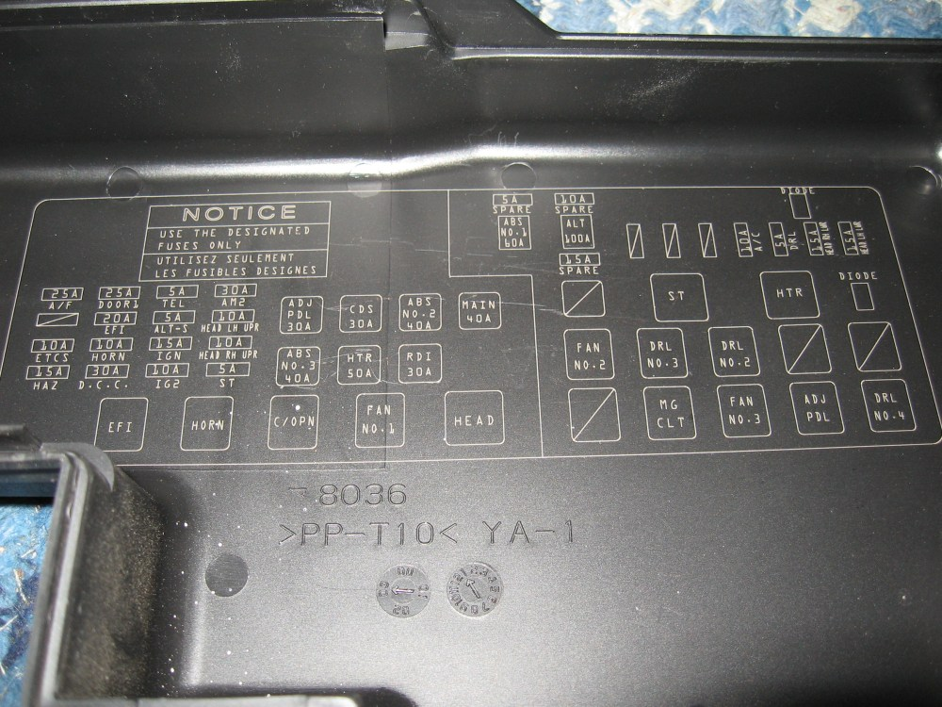medium resolution of 2008 sienna fuse box diagram