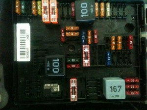 Volkswagen 2008: I just removed a 20 amp fuse from panel B