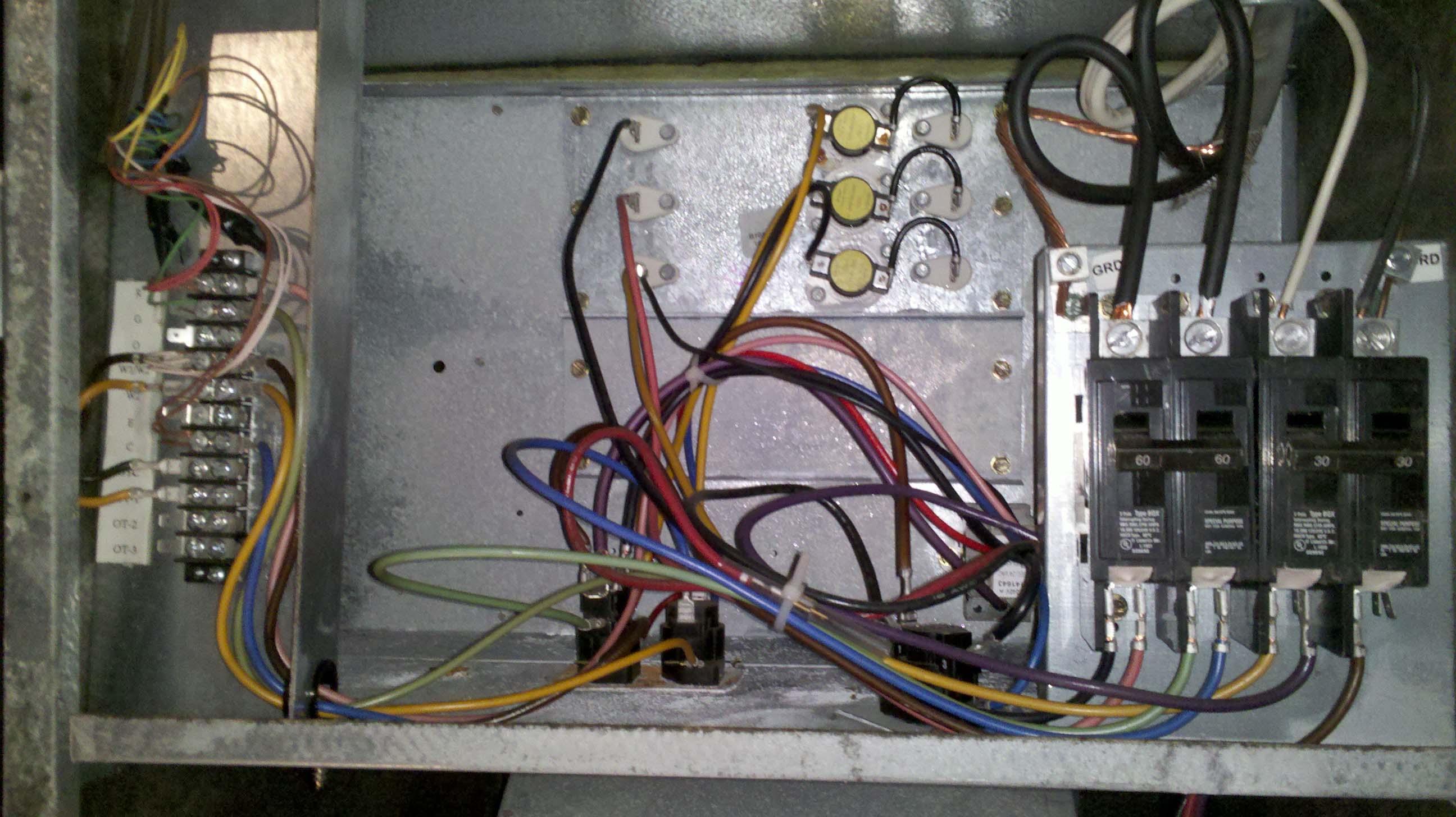 Air Handler Wiring Diagrams Also Goodman Air Handler Wiring Diagrams
