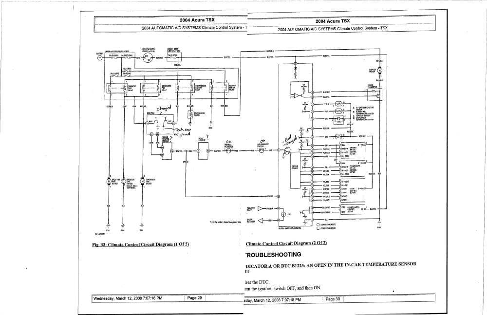 Acura Mdx Stereo Wiring Diagram - 2004 acura mdx engine ... on