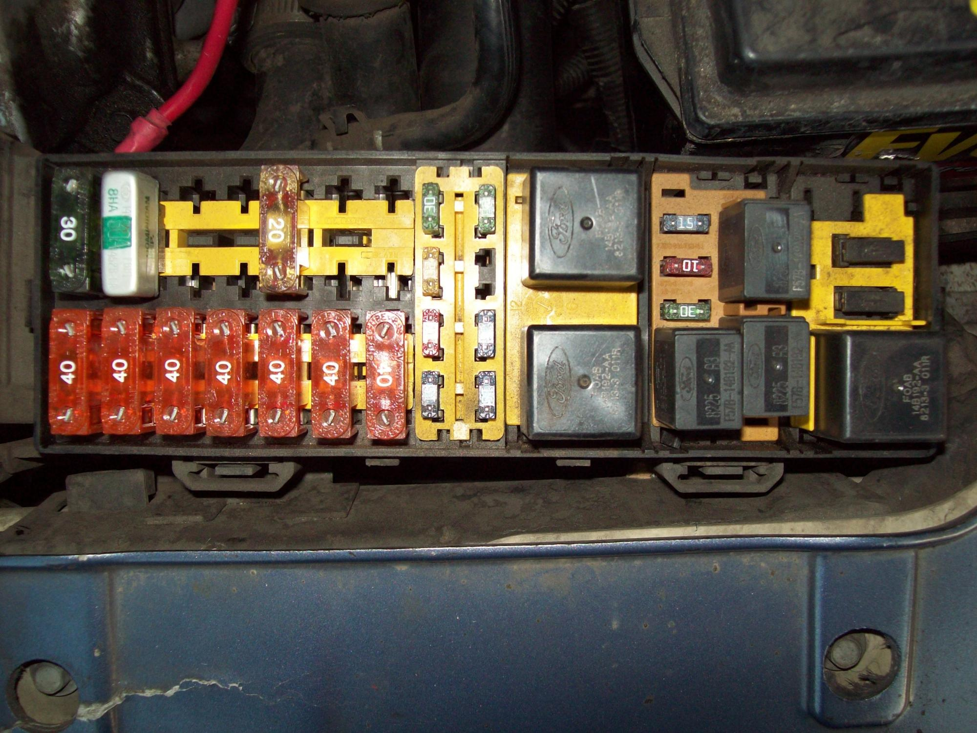 hight resolution of 2002 ford taurus 3 0 fuse panel diagram pdf download