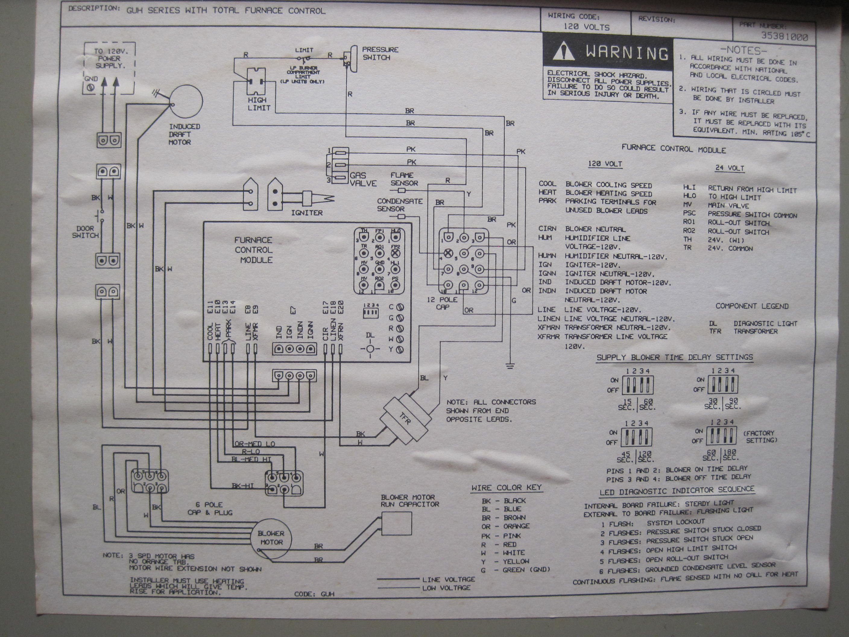 carrier electric furnace wiring diagram 9n for