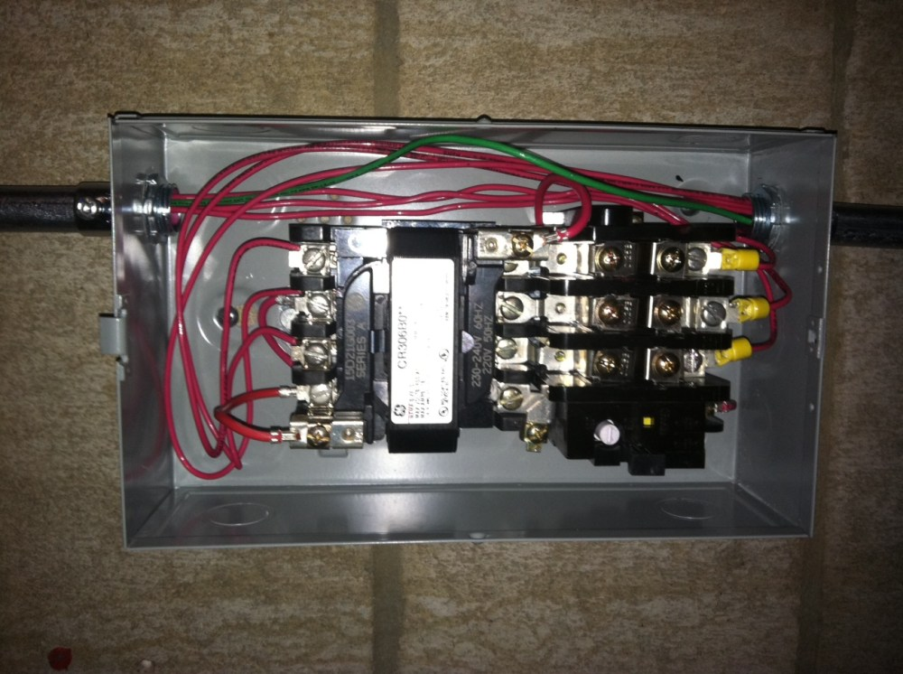 medium resolution of snap ge motor starter cr306 wiring diagram efcaviation com photos on single phase motor starter wiring