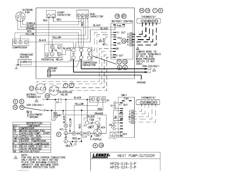 I have a Lenox HP29-024-4P Heat Pump Condensing Unit. The