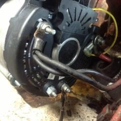 Valeo Marine Alternator Wiring Diagram 2 Way Switch I Installed The On Boat Volvo Penta Aq260 5 7