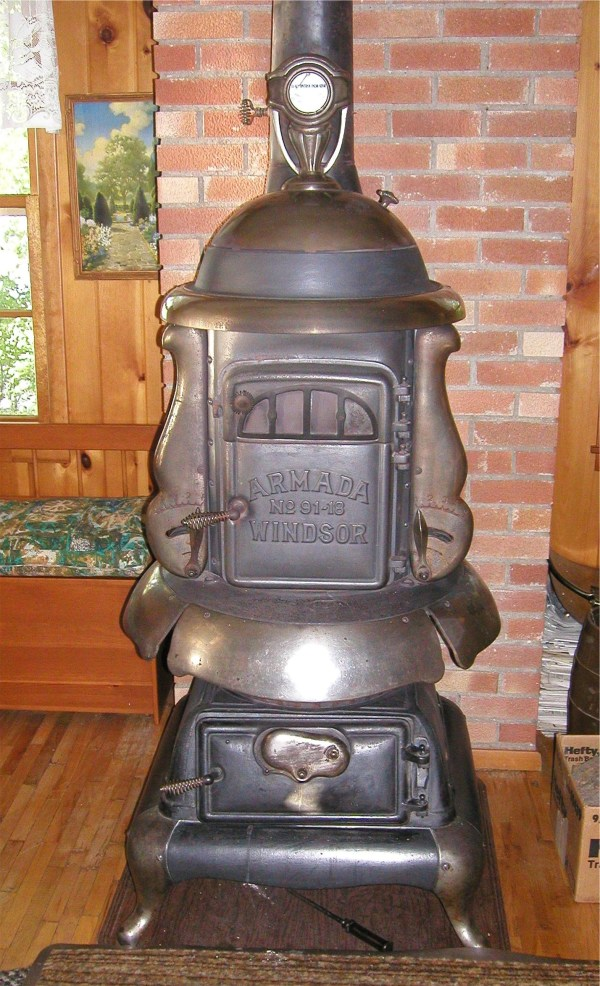 Stove Pot Belly Wood