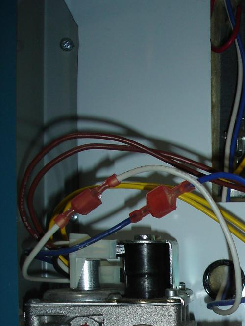 small resolution of power vent water heater wiring