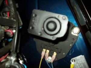 1967 Camaro: wiper motorThe motor has three electrical