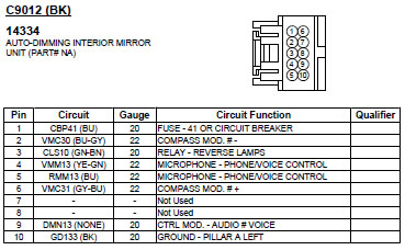 2008 ford f250 tow mirror wiring diagram delco remy hei distributor for a 2010 explorer sync 10-piin