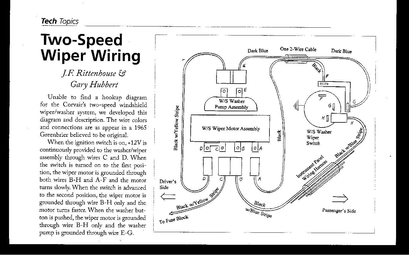 Wiring Diagram 68 Camaro Wiper Motor : Wiring diagram as well ford wiper motor