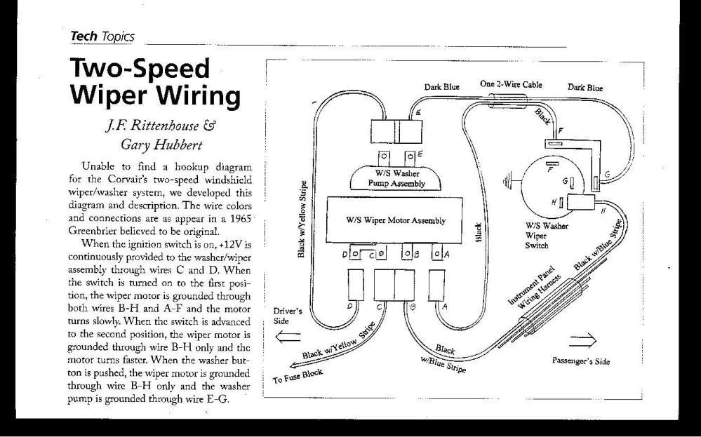 medium resolution of windshield wiper motor wiring diagram get free image 1966 2 speed wiper wiring diagram 1977 corvette wiper switch wiring diagram