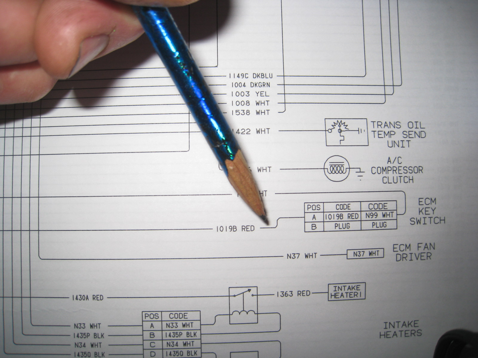 Use 2nd Diagram 1 Wire Or 3 Wire Alt Connection Is Your Choice Too