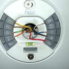 Nest Wiring Diagram Manual Aircraft Thermostat Heat Pump Color Code Free