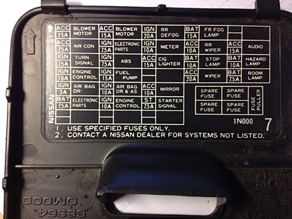 2007 nissan pathfinder radio wiring diagram trailer breakfast club nissan/datsun almera: my son has a 1998 amera. after