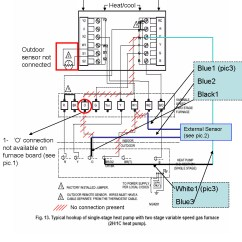 Hvac Wiring Diagram Thermostat Utility Trailer Light Pro 1 Heat Pump Free Engine Image