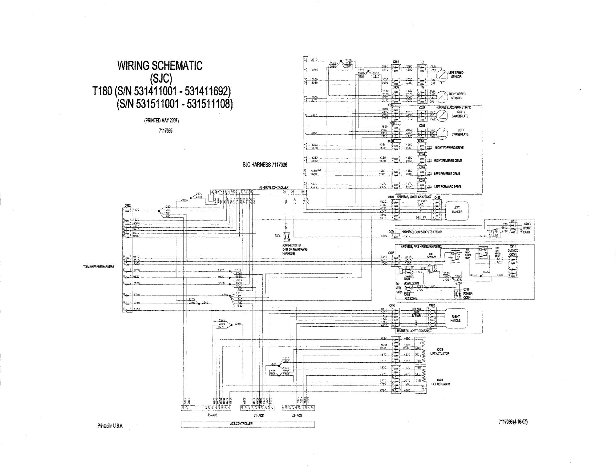 hight resolution of wiring diagram cat skid steer attachment et 250 wiring