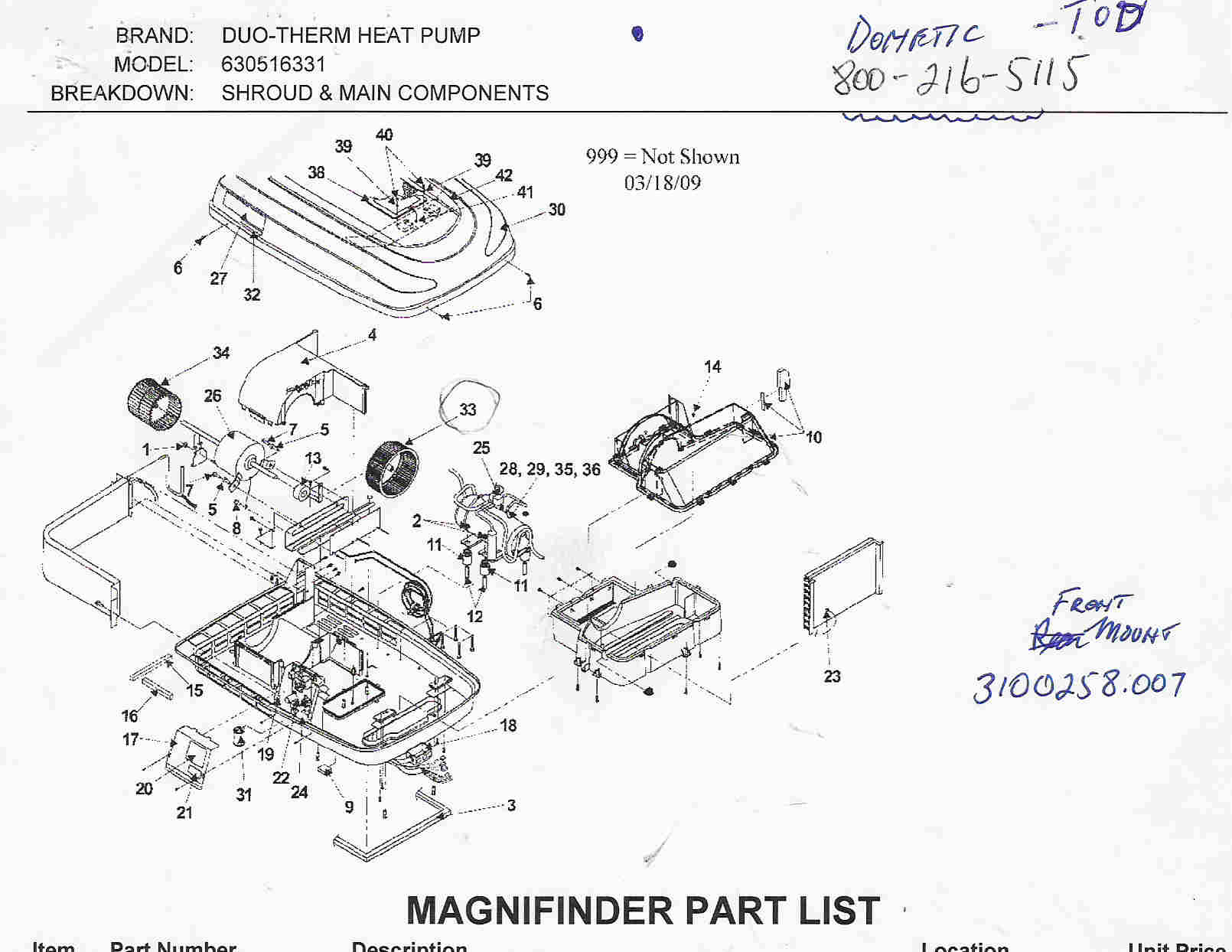 duo therm rv air conditioner wiring diagram automotive electrical