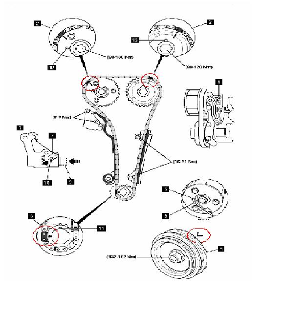 Gasket..intake..exhaust..the timing belt( TDC angle and
