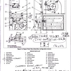Coleman Evcon Electric Furnace Wiring Diagram Sound Of Thunder Plot Air Conditioner Diagrams Eb15a