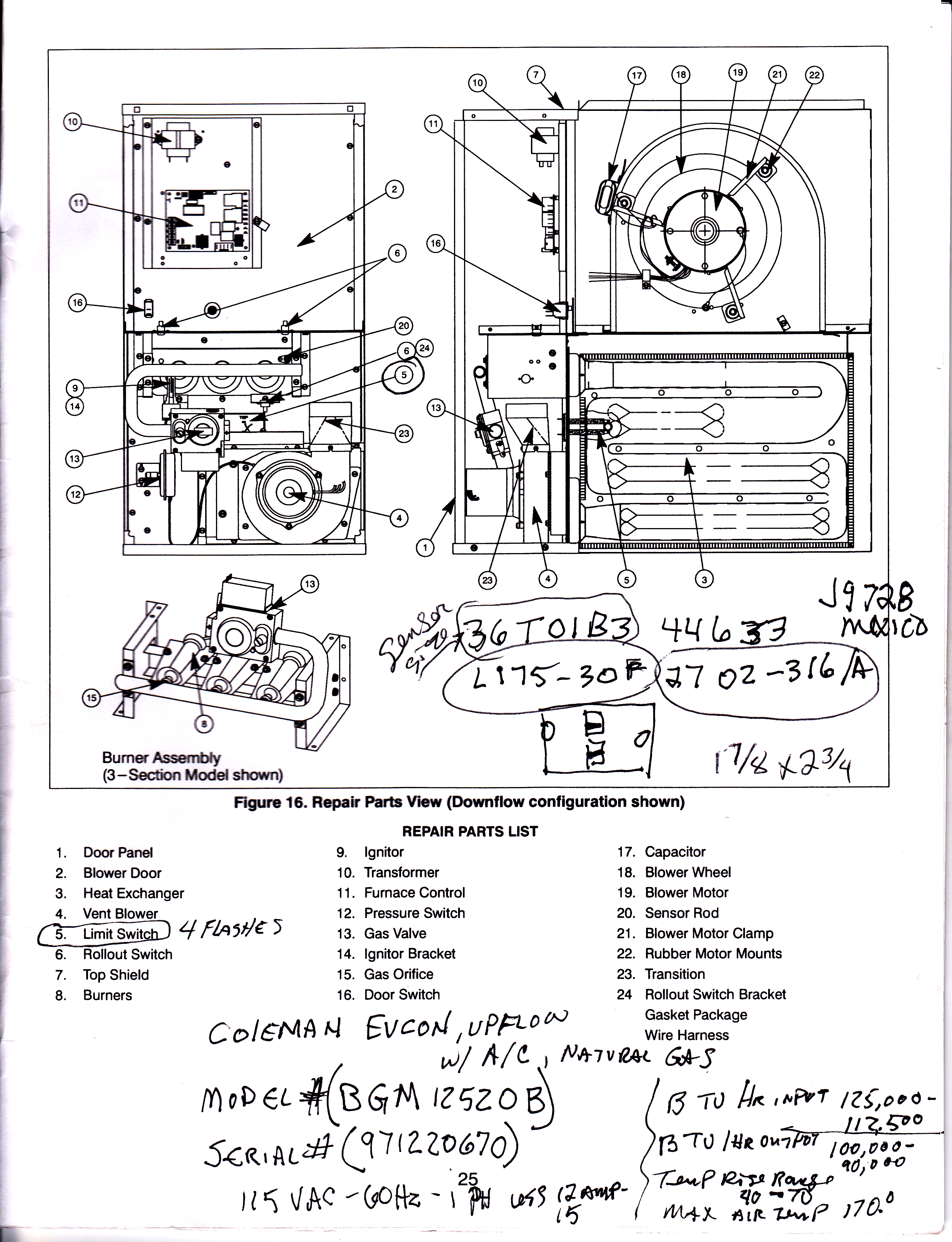 coleman mobile home furnace wiring diagram 2003 buick rendezvous radio evcon air conditioner diagrams eb15a electric