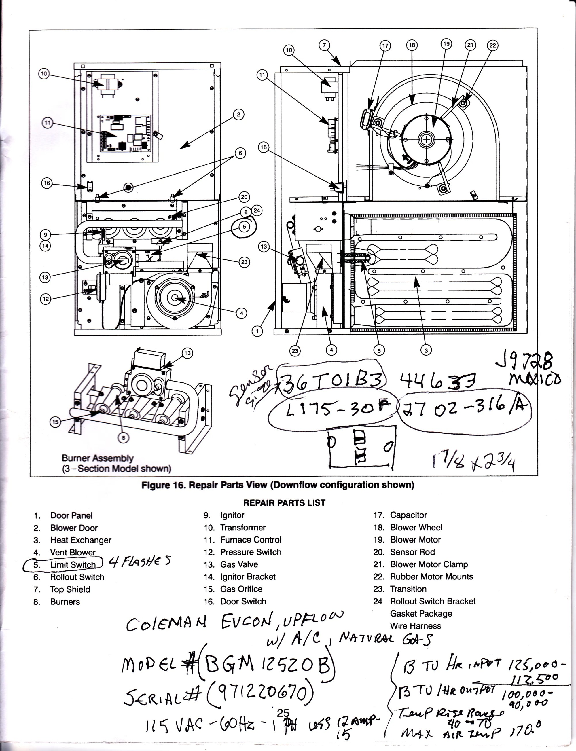 hight resolution of coleman 7975 furnace wiring diagram coleman free engine coleman eb15b electric furnace diagram coleman electric furnace