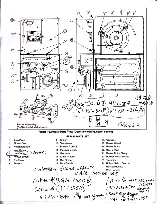 small resolution of coleman 7975 furnace wiring diagram coleman free engine coleman eb15b electric furnace diagram coleman electric furnace