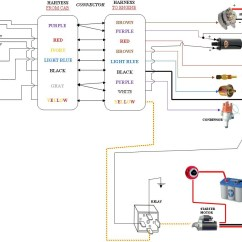 Volvo Penta Distributor Diagram Carrier Oil Furnace Wiring Tilt And Trim Circuit