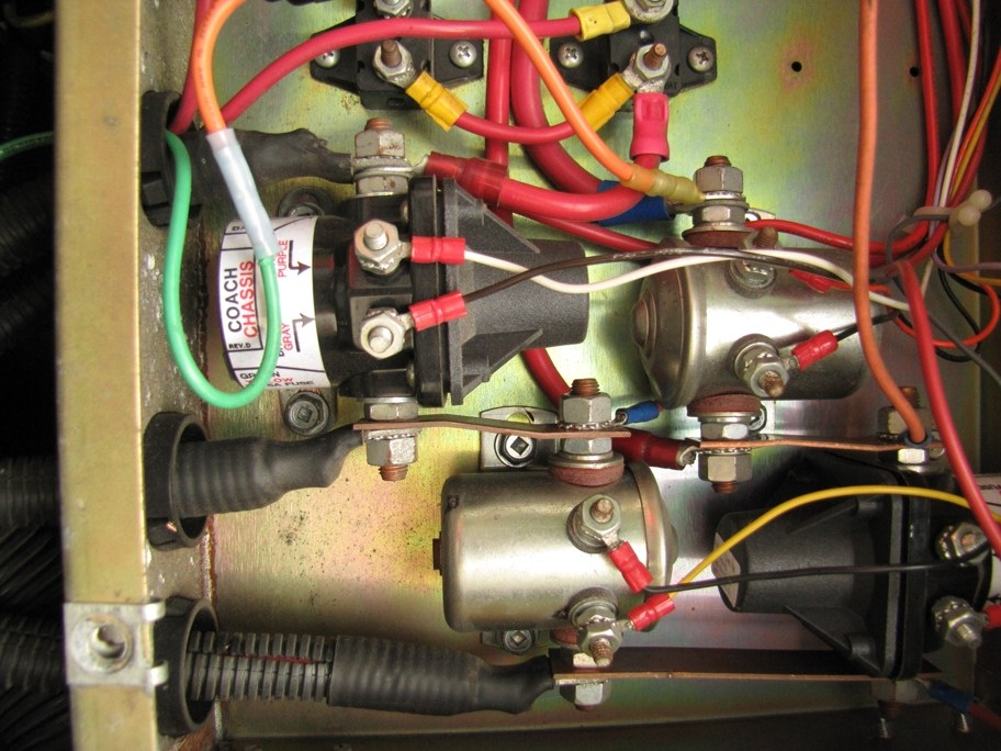 wiring diagram for 12v relay booster pump control panel 1995 fleetwood: solenoid..relay..interior lighting to come..crank