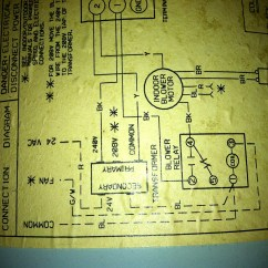 Tempstar Wiring Diagram Heat Pump System Sensor Duct Detector 2000 Air Conditioner