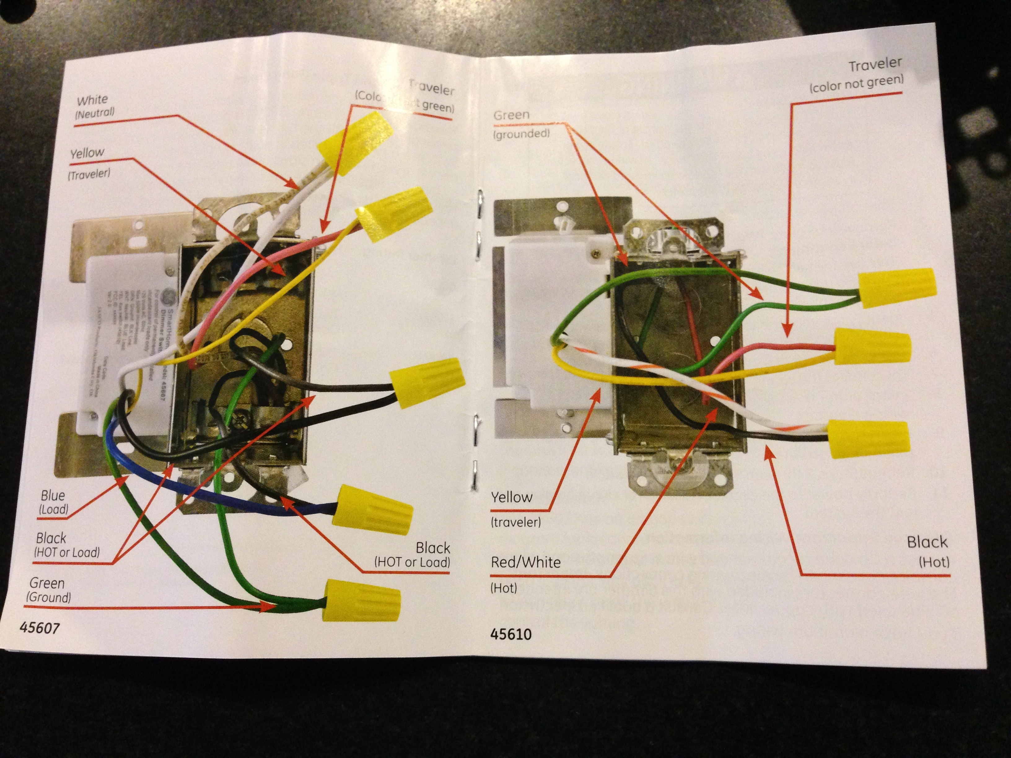 Timer Light Switch Wiring Diagram On Wiring A Ge 15312 Timer On 3 Way