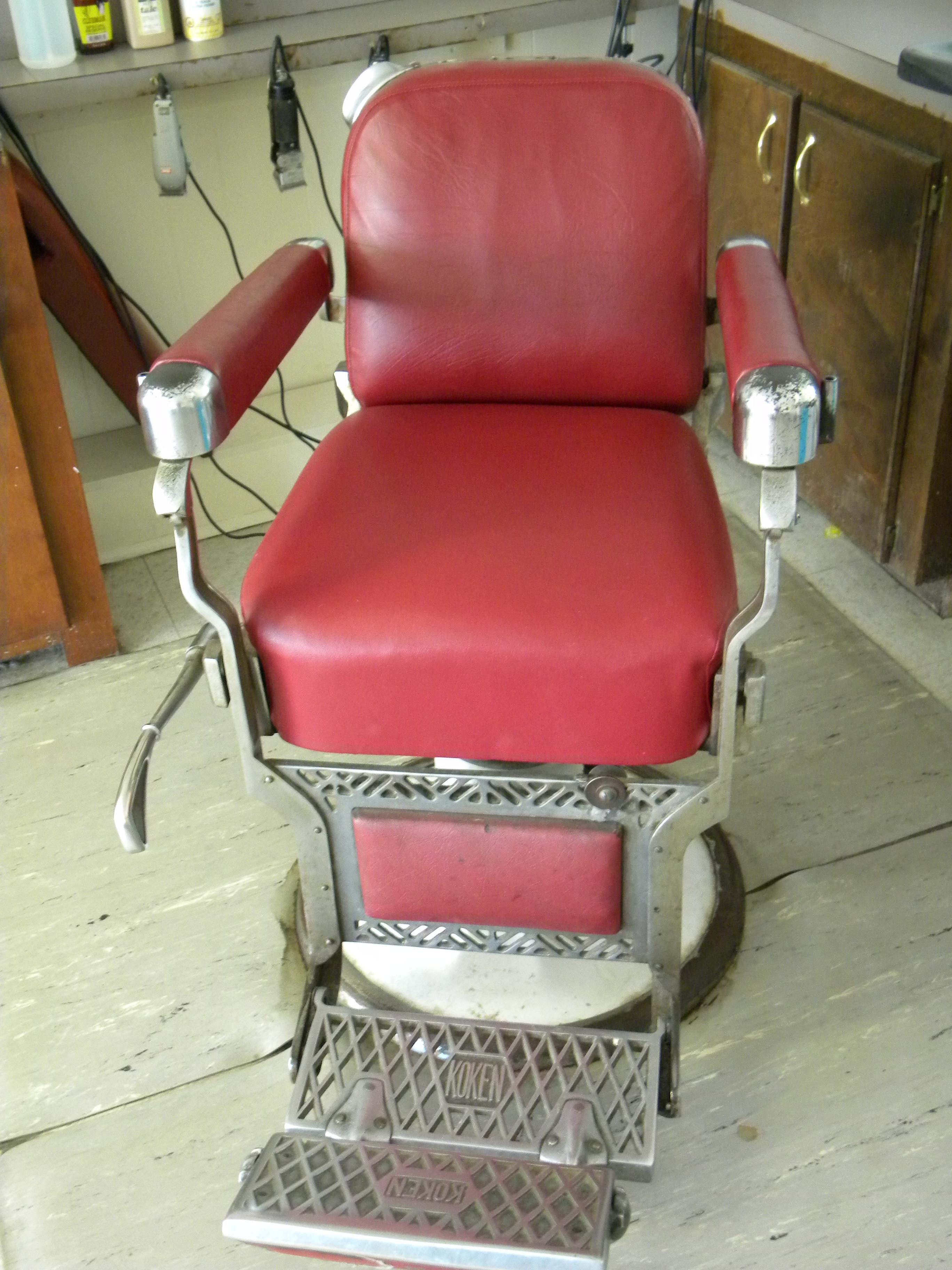 koken barber chair posture corrector desk chase i have another for which need age and