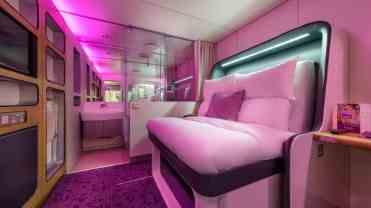 Yotel's Premium cabin has a retractable bed (Image courtesy of Yotel)