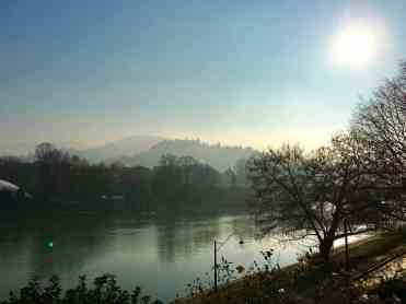 Turin Italy: River Po