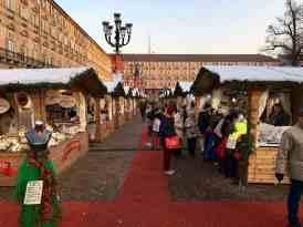 Turin Italy Christmas market